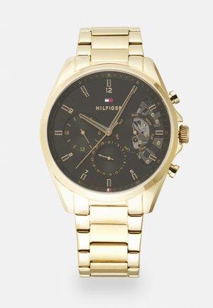 BAKER - Zegarek chronograficzny - gold-coloured/black
