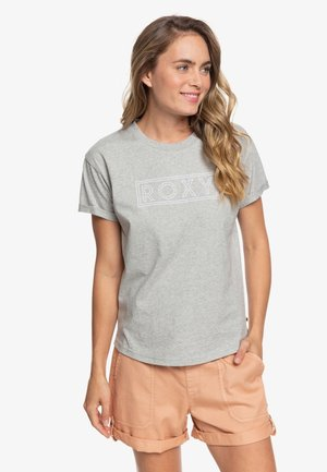 EPIC AFTERNOON - Print T-shirt - grey