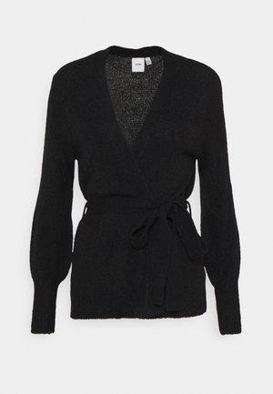 AMARA - Cardigan - solid black