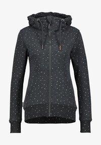 alife & kickin - Zip-up hoodie - moonless - 5