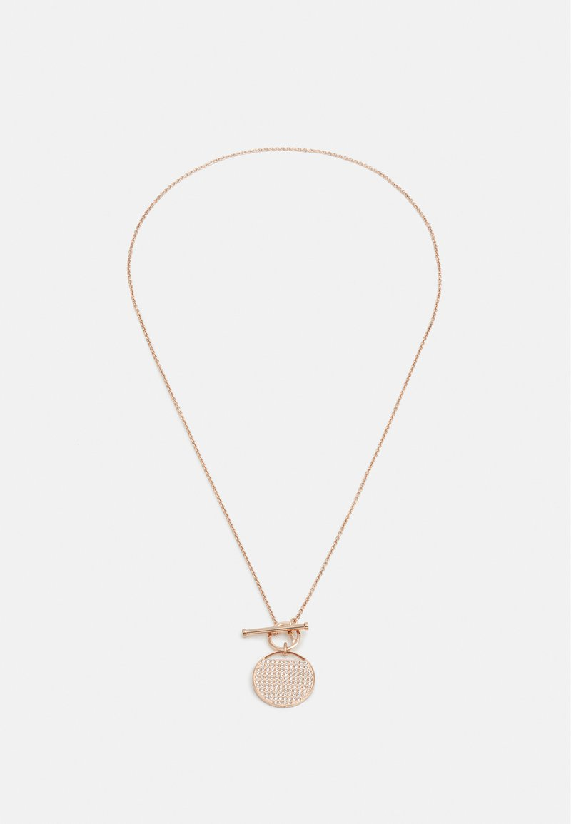 Swarovski - GINGER NECKLACE T BAR - Necklace - rose gold-coloured