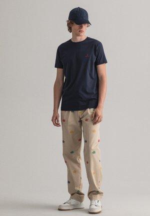CONTRAST - Basic T-shirt - evening blue