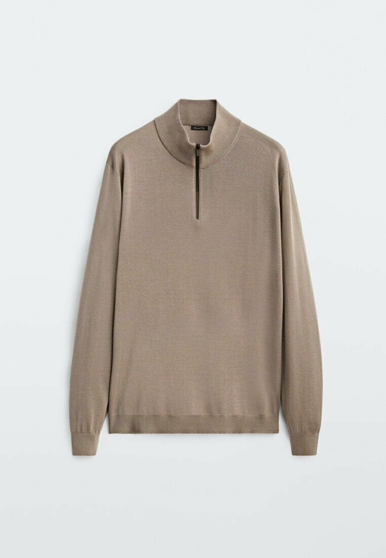 Homme MERINO WITH MOCK NECK  - Sweatshirt