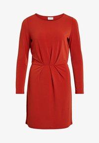 Vila - VICLASSY - Day dress - red - 0