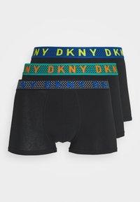 DKNY - MENS TRUNKS NEW ORLEANS 3 PACK - Pants - black - 0
