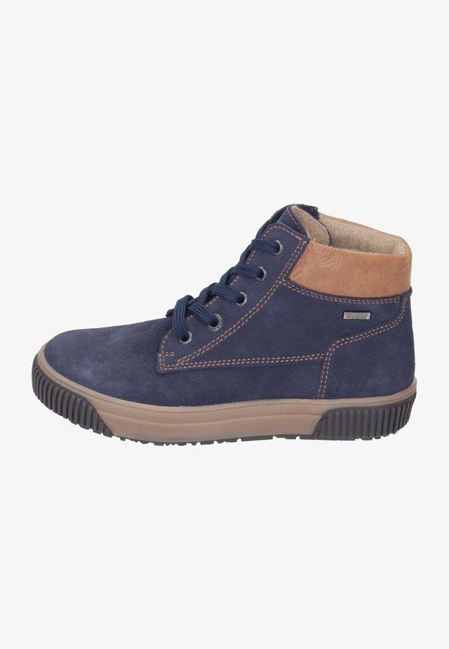 Lace-up ankle boots - atlantic/cognac