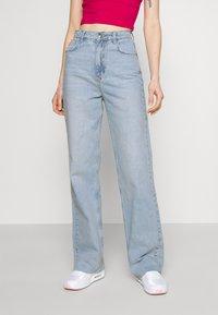 Gina Tricot - IDUN STRAIGHT  - Jeans straight leg - blue - 0