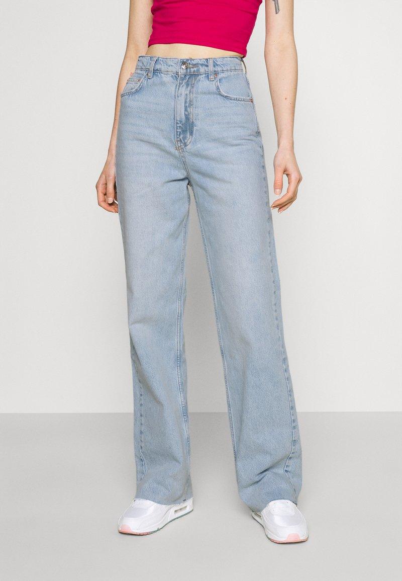 Gina Tricot - IDUN STRAIGHT  - Jeans straight leg - blue
