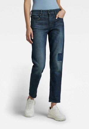 KATE BOYFRIEND - Straight leg jeans - worn in hale navy restored