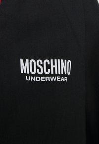 Moschino Underwear - NIGHT GOWN - Badjas - black - 4