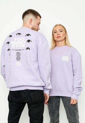 TOO MANY EYES - Sweater - purple