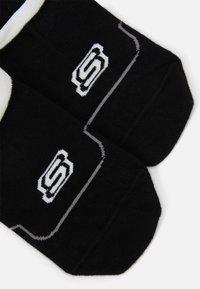 Skechers - CUSHIONED FOOTIES 6 PACK - Trainer socks - black - 2