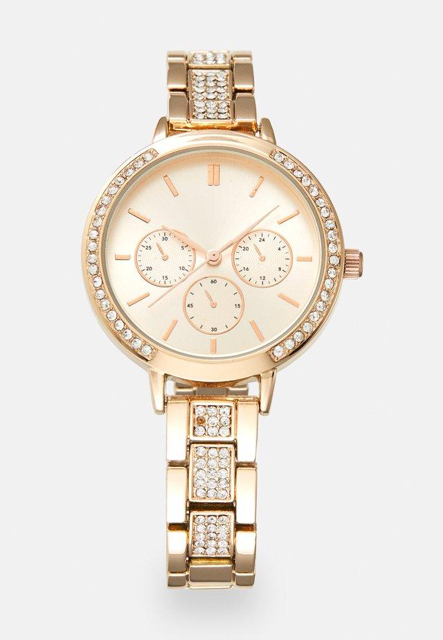 Kronografklokke - rose gold-coloured