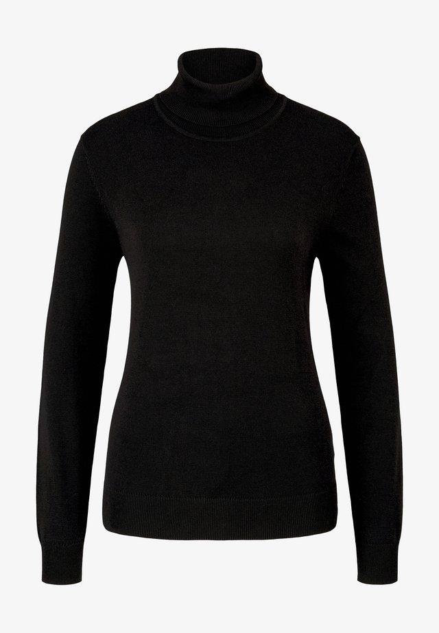 Sweter - deep black