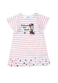 Mickey & Minnie - MINNIE MOUSE BABYKLEID MIT HAARBAND - Jersey dress - rot - 1