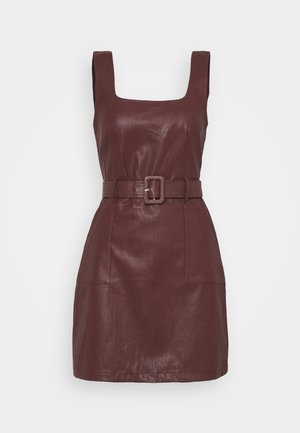 TAYLA DRESS - Shift dress - brow