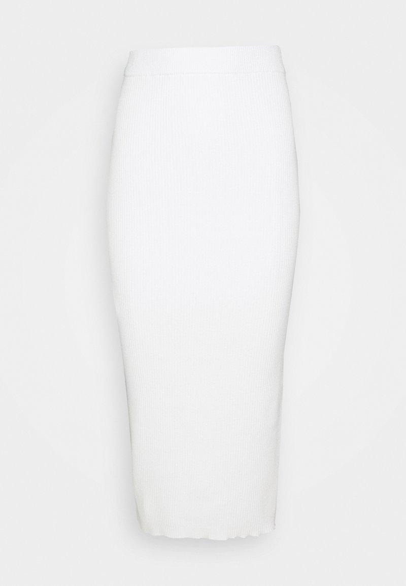 Glamorous Petite - MIDI SKIRT - Pencil skirt - cream
