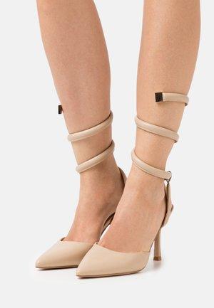 KARLIE - Classic heels - nude