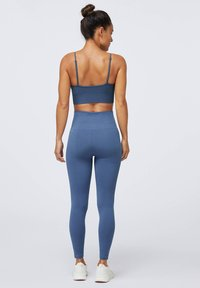 OYSHO - SEAMLESS - Legginsy - dark blue - 2