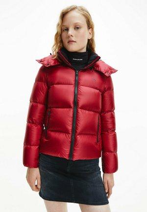 SHINY  - Down jacket - virginia red