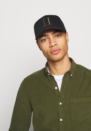 ENCORE BASEBALL - Cap - black/lichen green
