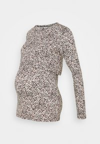 MAMALICIOUS - MLBAILA JUNE - Long sleeved top - snow white/rose/black - 0
