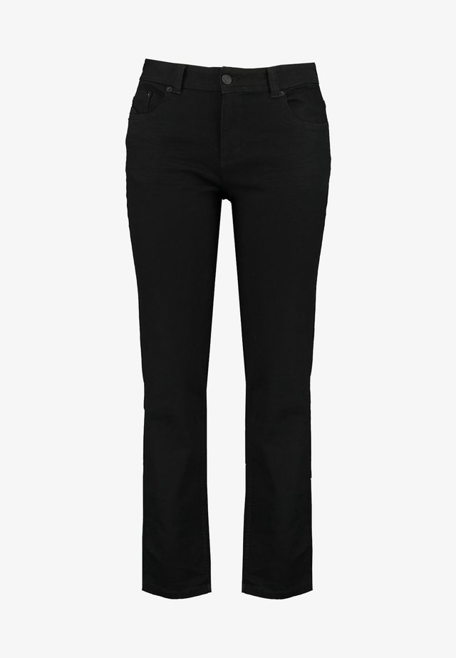 ROSE - Straight leg jeans - black