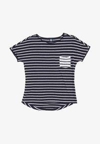 North Sails - Print T-shirt - dark blue - 4