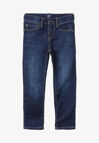 GAP - BOTTOMS SLIM - Slim fit jeans - dark blue denim - 3