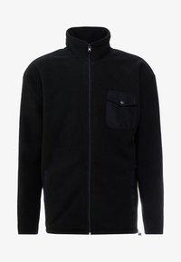 Urban Classics - POLAR TRACK JACKET - Fleece jacket - black - 4