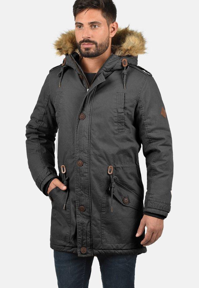 WINTERJACKE CLARKI TEDDY - Winter coat - dark grey