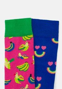 Happy Socks - HAPPY RAINBOW BANANA BIRD - Socks - multi - 2