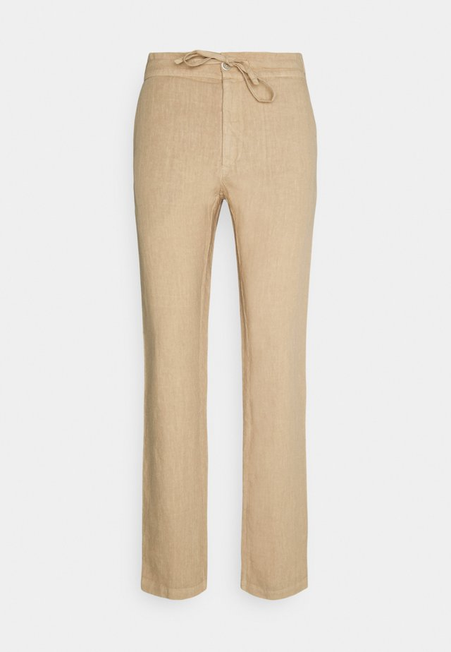 TROUSERS - Tygbyxor - cookie