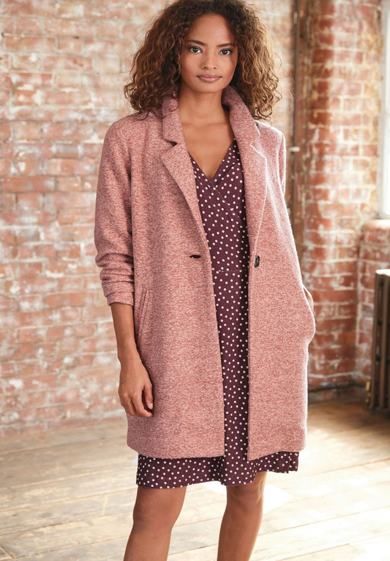 Next - COATIGAN - Classic coat - pink