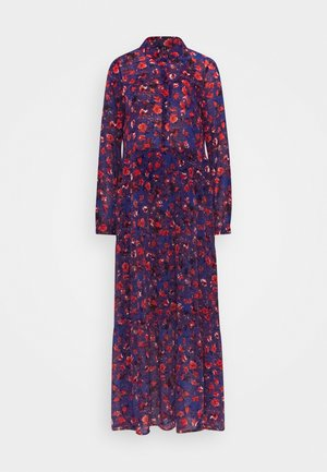 VMMAGDA BUTTON MAXI DRESS - Vestito lungo - sodalite blue/magda