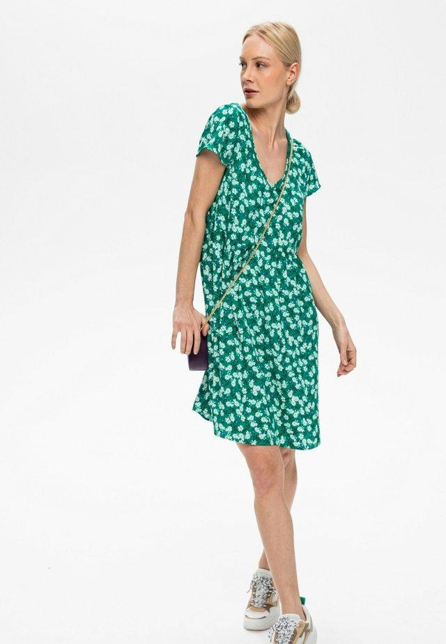 ROBE - Robe d'été - imprimé vert