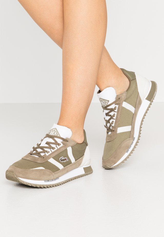 PARTNER RETRO - Baskets basses - khaki/offwhite