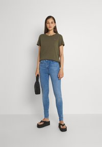 Levi's® - MILE HIGH SUPER SKINNY - Jeans Skinny Fit - naples fade - 1