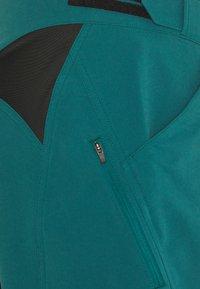 Zimtstern - STARFLOWZ SHORT MEN - kurze Sporthose - pacific/black - 6