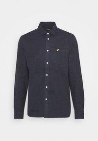 BRUSHED CHECK - Shirt - dark navy