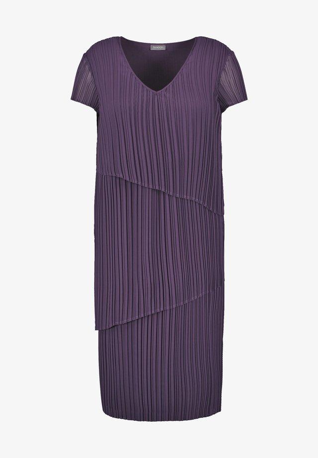 Korte jurk - purple pennant