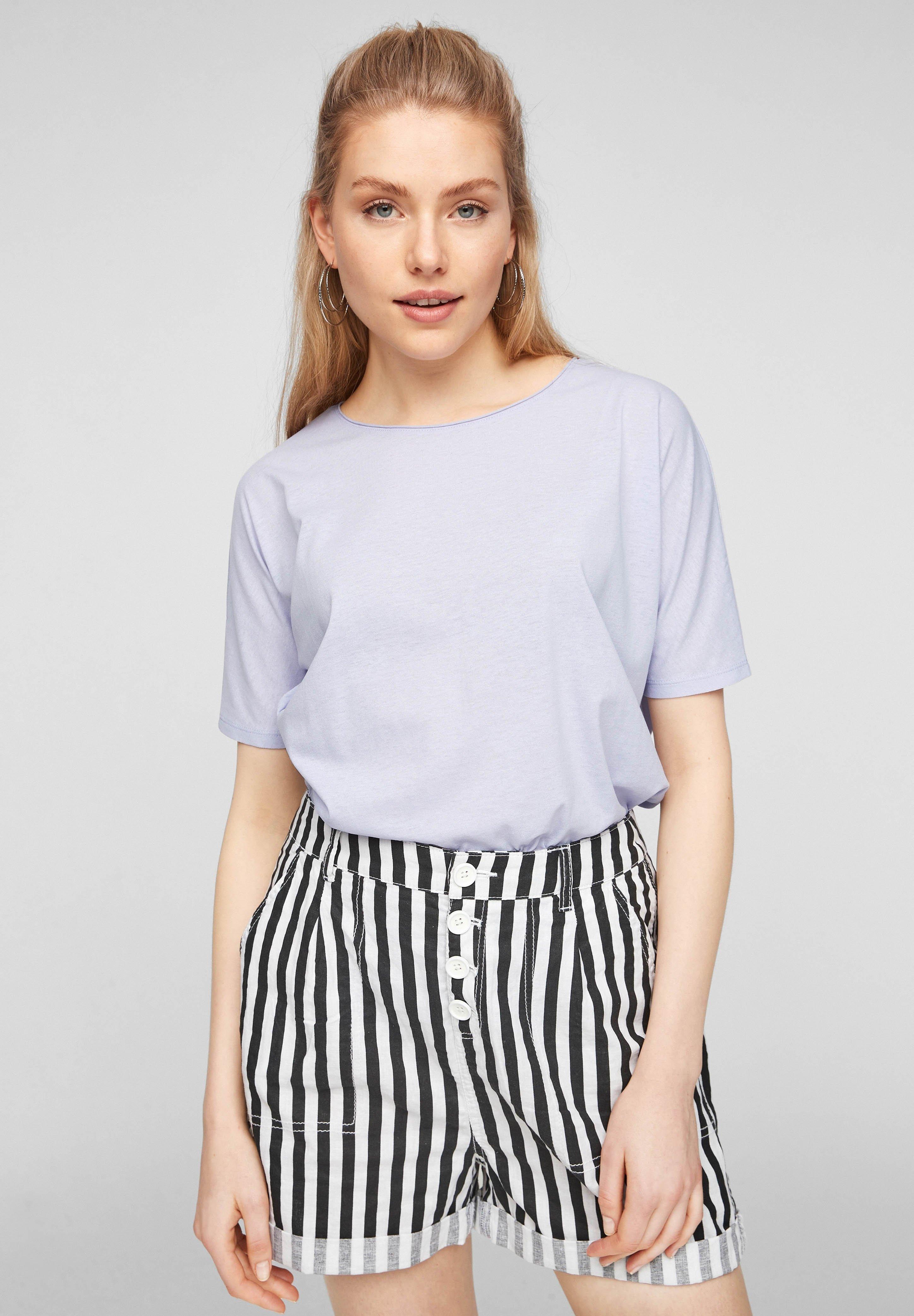 Damen FLEDERMAUSÄRMELN - T-Shirt basic