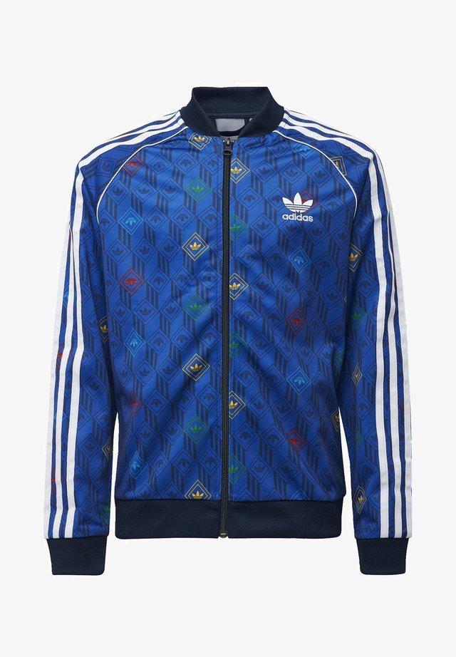 SST TOP - Zip-up hoodie - blue