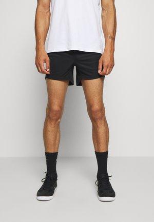 Pantaloncini sportivi - black/asphalt