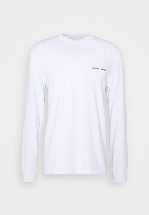 NORSBRO - Top sdlouhým rukávem - white