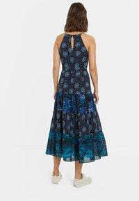 Desigual - DESIGNED BY M. CHRISTIAN LACROIX: - Sukienka letnia - black - 2