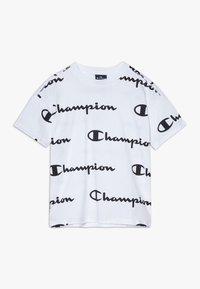 Champion - LEGACY AMERICAN CLASSICS  - T-shirt z nadrukiem - white - 0