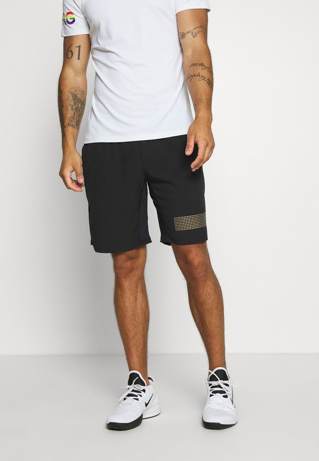 MEDAL SHORTS - Short de sport - black gold