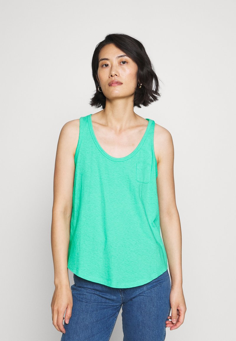 GAP - TANK - Top - siren green