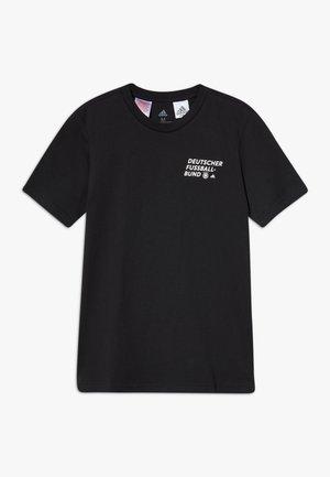 DFB DEUTSCHLAND KIDS TEE UNISEX - T-shirts print - black